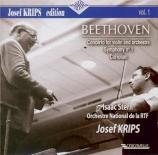 BEETHOVEN - Krips - Coriolan, ouverture pour orchestre op.62 Josef Krips Edition Vol.1