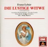 LEHAR - Mattes - Die lustige Witwe (La veuve joyeuse) : extraits