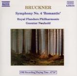 BRUCKNER - Neuhold - Symphonie n°4 en mi bémol majeur WAB 104