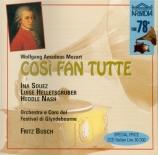 MOZART - Busch - Cosi fan tutte (Ainsi font-elles toutes), opéra bouffe live Glyndebourne 25-28 - 6 - 1935