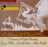 BENATZKY - Diot - Auberge du Cheval Blanc (L') : extraits