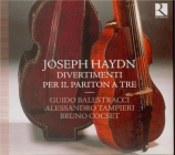 HAYDN - Balestracci - Trio pour baryton, alto et violoncelle n°42 en ré