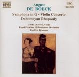 DE BOECK - Devreese - Symphonie en sol