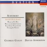 SCHUBERT - Guest - Messe n°6 en mi bémol majeur, pour solistes, chœur et