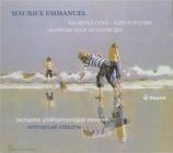 EMMANUEL - Villaume - Symphonie n°1 op.18
