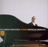 BACH - Angelich - Variations Goldberg, pour clavier BWV.988