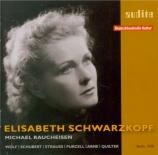 WOLF - Schwarzkopf - Mignon I, pour voix et piano