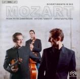 MOZART - Zimmermann - Divertimento pour trio à cordes en mi bémol majeur