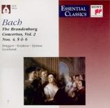 BACH - Leonhardt - Concerto brandebourgeois n°4 pour orchestre en sol ma
