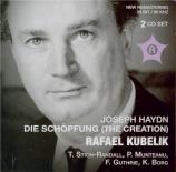 HAYDN - Kubelik - Die Schöpfung (La création), oratorio pour solistes, c live Roma 2 - 5 - 1959