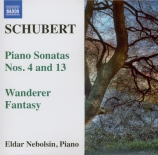 SCHUBERT - Nebolsin - Sonate pour piano en la mineur op.posth.164 D.537