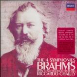 BRAHMS - Chailly - Symphonie n°1 pour orchestre en do mineur op.68