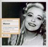 MASSENET - Morel - Manon (live MET 28 - 10 - 1959) live MET 28 - 10 - 1959