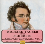Tauber sings Lieder with Orchestral Accompaniment