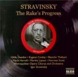 STRAVINSKY - Stravinsky - The Rake's progress(La carrière d'un libertin