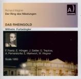 WAGNER - Furtwängler - Das Rheingold (L'or du Rhin) WWV.86a live Scala di Milano 4 - 3 - 1950