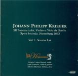KRIEGER - Linder-Dewan - Sonata quinta