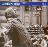 MOZART - Krips - Requiem pour solistes, chœur et orchestre en ré mineur