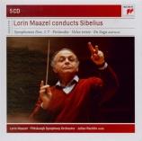 SIBELIUS - Maazel - Karelia, suite pour orchestre op.11