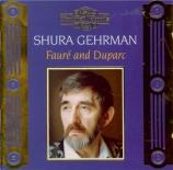 FAURE - Gehrman - L?horizon chimérique (Mirmont), cycle de mélodies pour