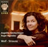 WOLF - Kirchschlager - Auf einer Wanderung, pour voix et piano live London, Wigmore Hall, 25 - 2 - 2010