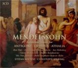 MENDELSSOHN-BARTHOLDY - Spering - Athalia (Athalie), musique de scène po