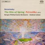 STRAVINSKY - Litton - Petrouchka, ballet burlesque pour orchestre en 4 t