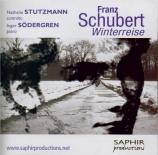 SCHUBERT - Stutzmann - Winterreise (Le voyage d'hiver) (Müller), cycle d