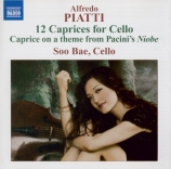 PIATTI - Bae - Douze capricci pour violoncelle seul op.25