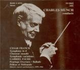FRANCK - Munch - Symphonie
