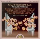 BACH - Reinberger - Toccata et fugue pour orgue en ré mineur BWV.565 (at