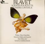 BLAVET - Allain-Dupré - Sonate pour flûte op.3 n°2