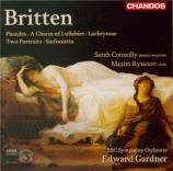 BRITTEN - Gardner - Phaedra (Lowell - Racine), cantate dramatique pour mez