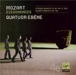 MOZART - Quatuor Ebène - Quatuor à cordes n°15 en ré mineur K.421 (K6.41