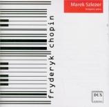 CHOPIN - Szlezer - Fantaisie pour piano en fa mineur op.49