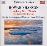 HANSON - Schwarz - Symphonie n°1 op.21