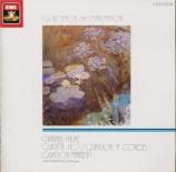 FAURE - Collard - Quintette avec piano n°1 en ré mineur op.89 Import Japon