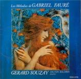 FAURE - Souzay - Sérénade pour violoncelle et piano op.98 (import Japon) import Japon