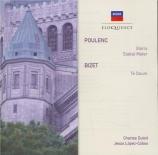 POULENC - Dutoit - Stabat Mater, pour soprano, chœur mixte à cinq voix e