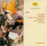 LISZT - Zilberstein - Deux légendes, pour piano S.175