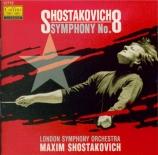 CHOSTAKOVITCH - Chostakovitch - Symphonie n°8 op.65