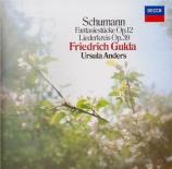 SCHUMANN - Anders - Liederkreis (Eichendorff), cycle de douze mélodies p Import Japon
