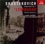 CHOSTAKOVITCH - Ancerl - Symphonie n°7 op.60 'Leningrad' (Import Japon) Import Japon