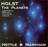 HOLST - Nettle - The Planets (Les planètes) op.32 : version pour deux pi