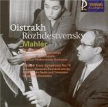 MAHLER - Oistrakh - Symphonie n°4