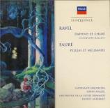 RAVEL - Maazel - Daphnis et Chloé, ballet pour orchestre et chœur mixte