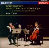 TCHAIKOVSKY - Suk Trio - Trio avec piano op.50 (import Japon) import Japon