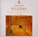 FAURE - Doyen - Nocturne n°1 op.33 n°1 (Import Japon) Import Japon