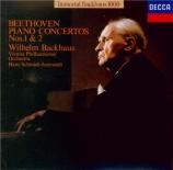 BEETHOVEN - Backhaus - Concerto pour piano n°1 en ut majeur op.15 import Japon