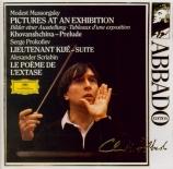 MOUSSORGSKY - Abbado - Tableaux d'une exposition, pour piano